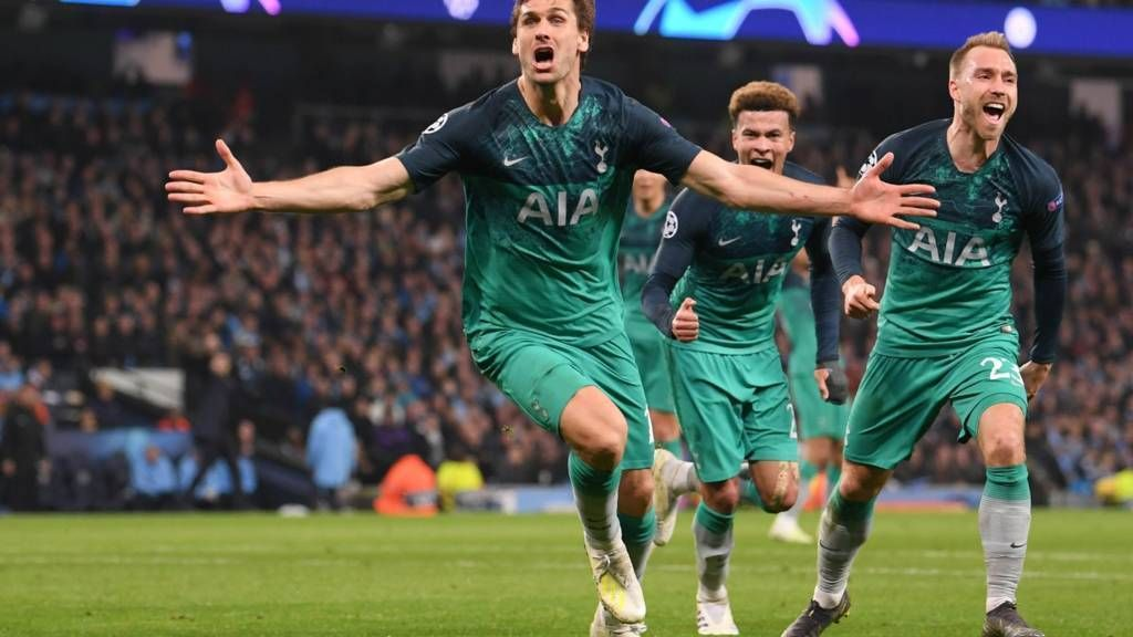 f9530a0162772 Tottenham confirmed the semifinal of Uefa Champions League 2018-2019 ...
