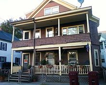 Jack Kerouac - Wikipedia, the free encyclopedia Jack Kerouac was born on 9 Lupine Road in the West Centralville section of Lowell Massachusetts, 2nd floor.