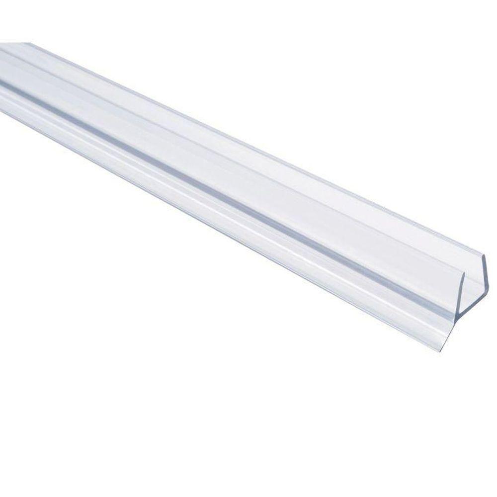 Showerdoordirect 36 In Frameless Shower Door Seal With Wipe For 3