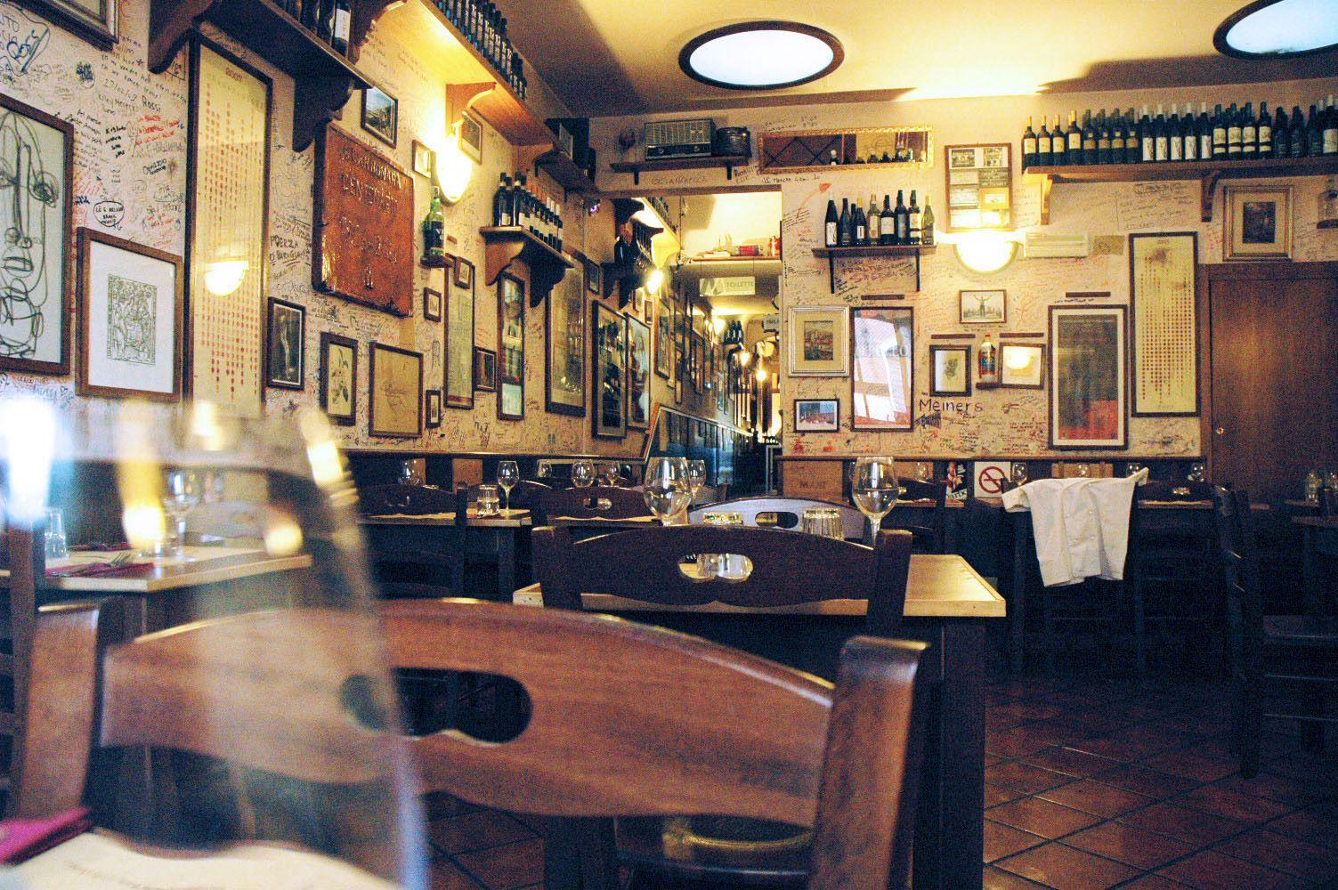 Osteria ristorante con cucina tipica romana a Roma