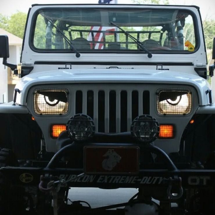 Blog The 10 Best Jeep Angry Eyes Mods Cool Jeeps Angry Eyes