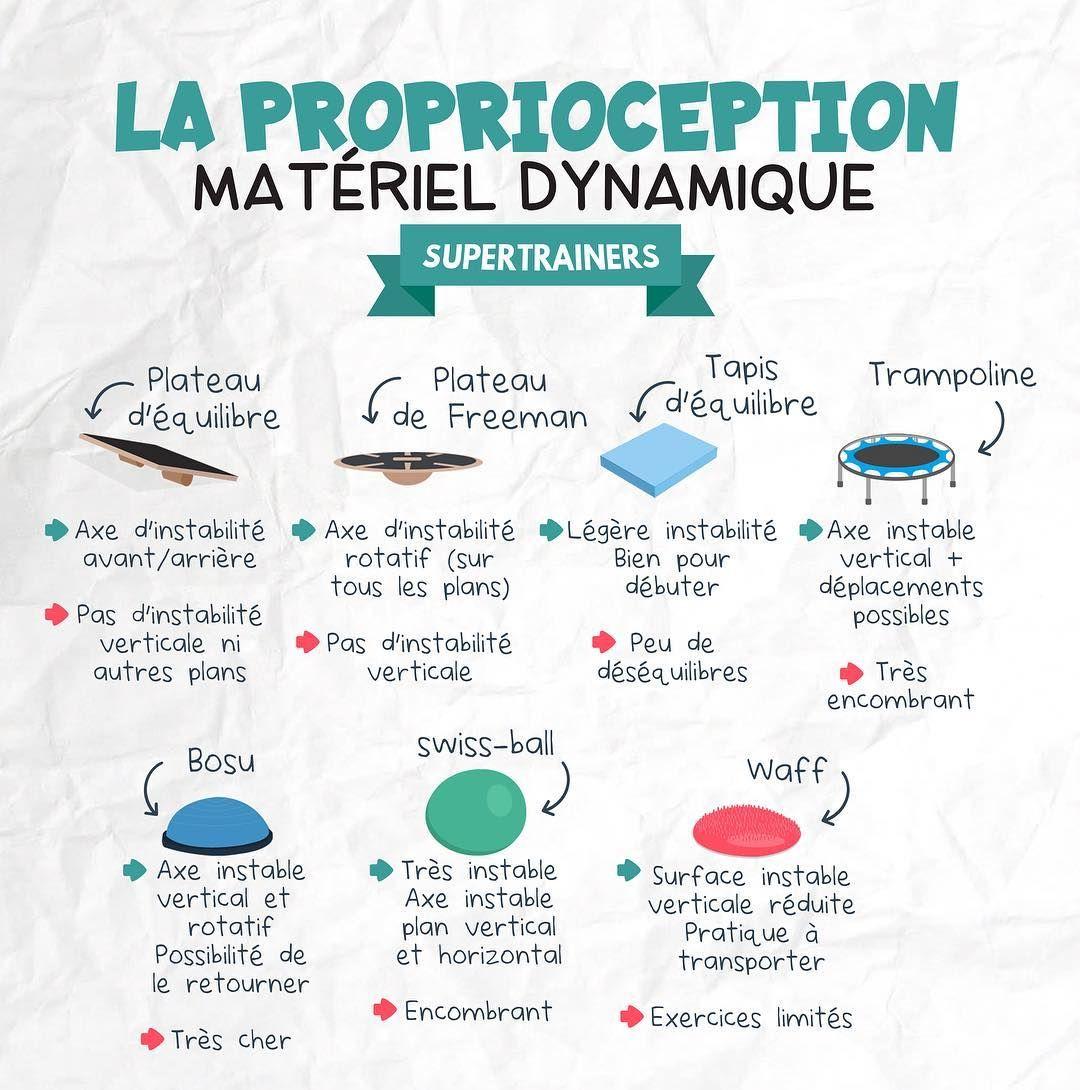 La Proprioception Materiel Dynamique Musculation Exercice Musculation Musculation Pour Debutant