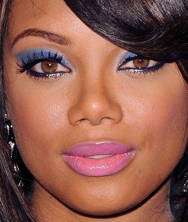Actress Tiffany Hines Has Hazel Eyes Blue Eyed Soul