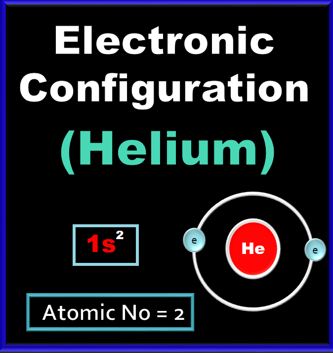 Electronic Configuration For Helium He Digital Kemistry In 2021 Electron Configuration Configuration Helium