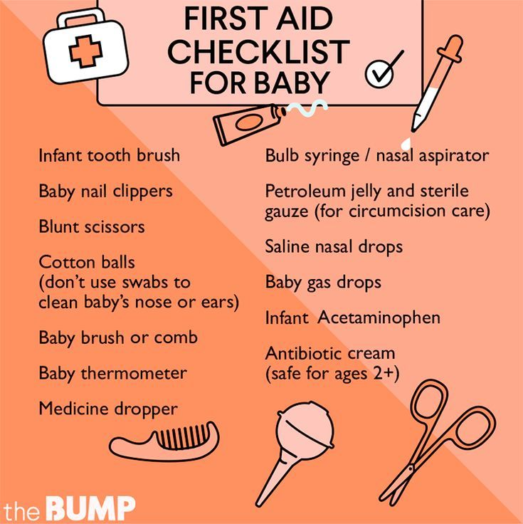 Checklist: Making A First Aid Kit For Baby #firstaid