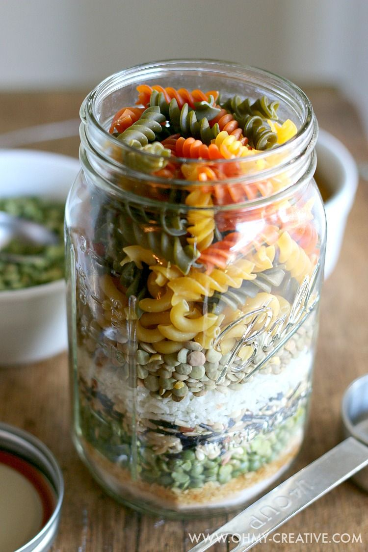 Friendship Soup In A Jar Gift Soup In A Jar Meals In A