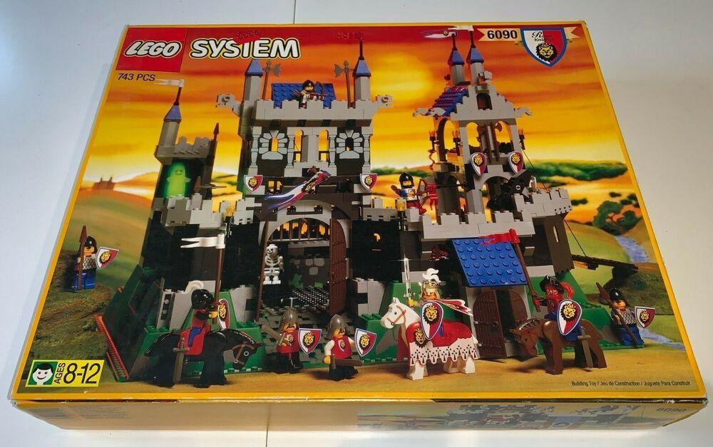 Lego 6090 royal knights castle complete winstructions
