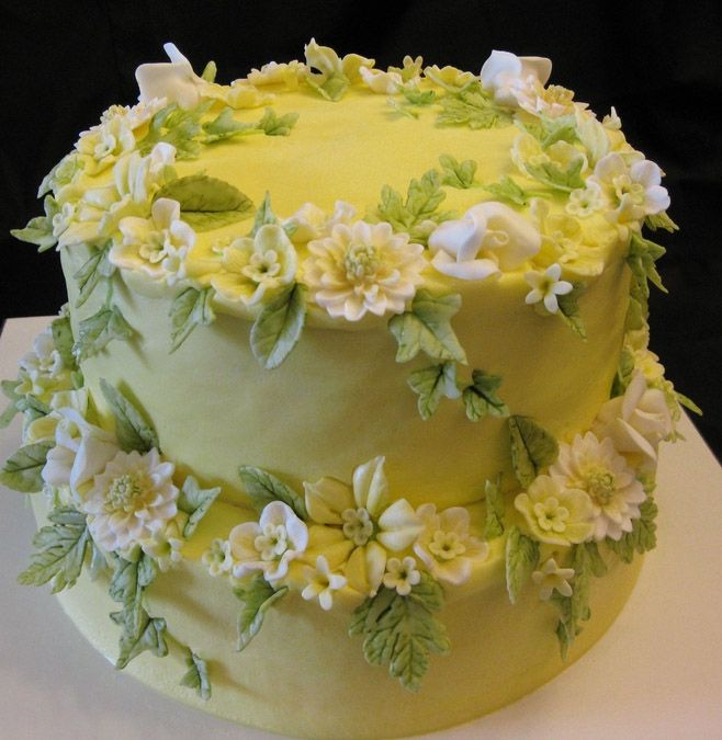 birthdayflowercake9 For Birthdays Pinterest Beautiful