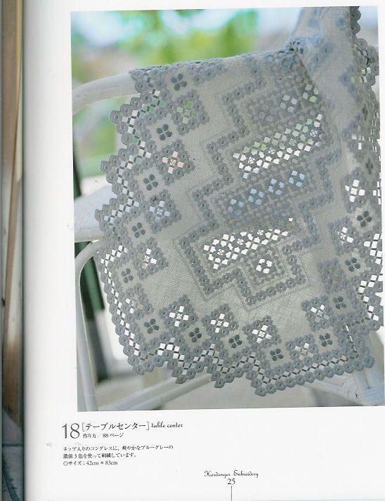Gallery.ru / Фото #35 - Hardanger Embroidery(япония ...
