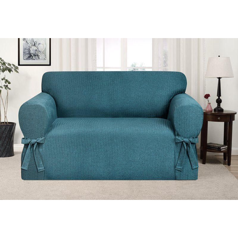 Box Cushion Loveseat Slipcover Loveseat Slipcovers Love Seat