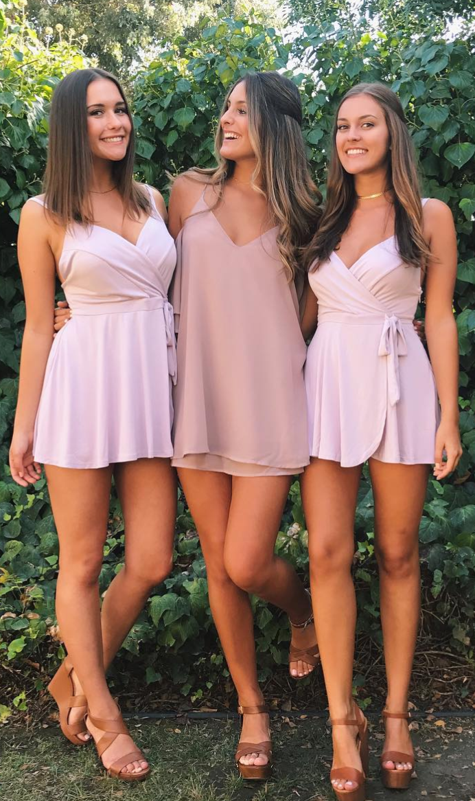 Naked girls college party