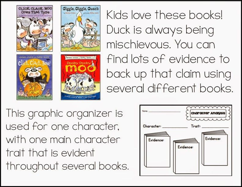 Teaching Character Analysis in the Primary Grades Character - character analysis