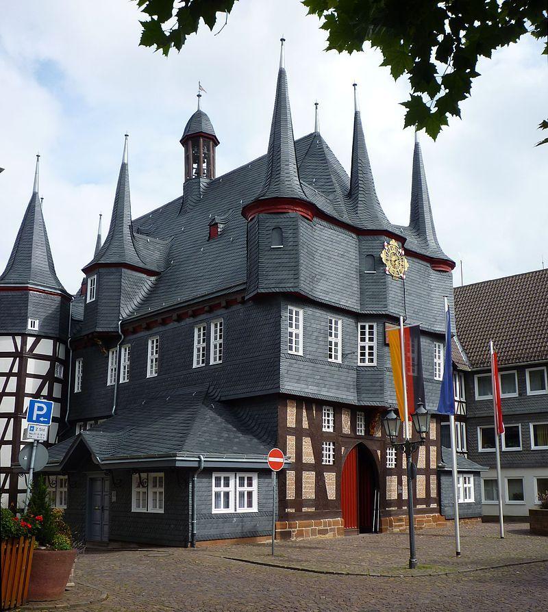 Impressionante qdo estivemos aqui. Frankenberg - Rathaus 02 - Frankenberg (Eder) – Wikipedia