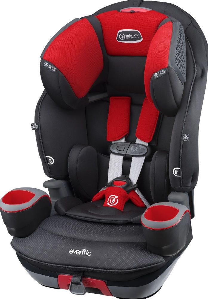 3 In 1 Adjustable Recline Combination Booster Car Safety Seat Baby Gear New BoosterCarSeat