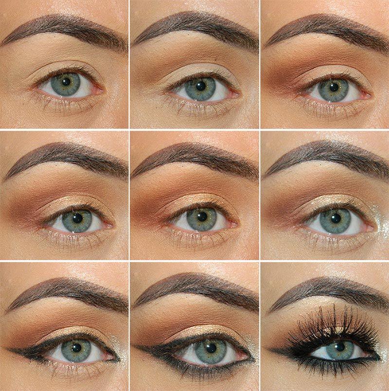 Classic Fall Makeup Tutorial In Neutral Colors | Fall makeup ...