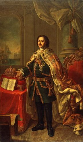 """PETER I """"The Great"""" (1672 - 1725), Tsar and 1st Emperor of Russia in 1682-1725 / Пётр I Русский Император."""
