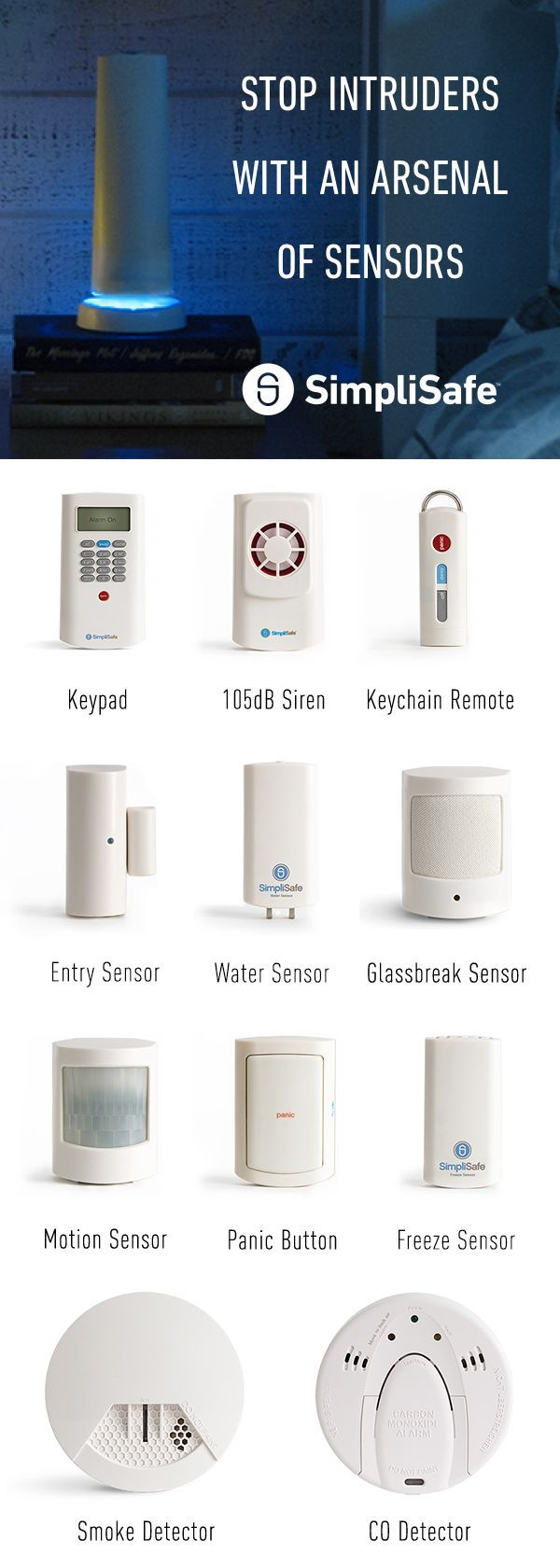 medium resolution of when you choose simplisafe you get a custom home security system shipped straight to your door within 30 minutes it s set up and your whole apartment is