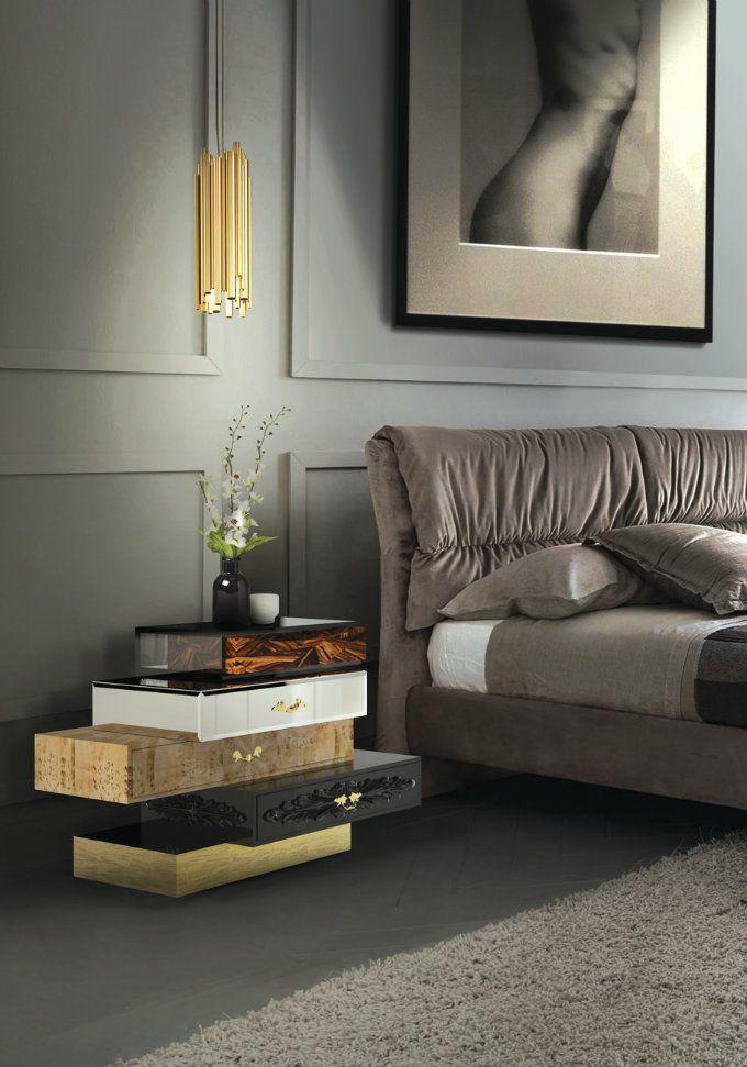 die modernsten herbst schlafzimmer trends mit pantone farben 2017 kunst m bel pinterest. Black Bedroom Furniture Sets. Home Design Ideas