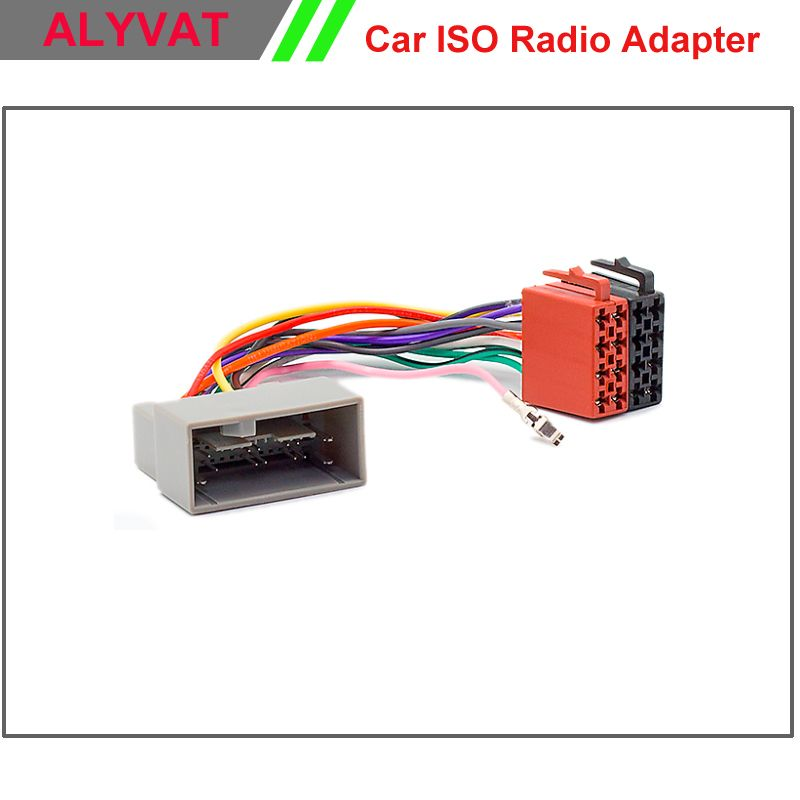 Car Iso Radio Adapter Connector For Honda 2008 Onwards Wiring Harness Auto Stereo Adaptor Lead Loom Power Cable Plug Wire Cable Plug Car Stereo Car Electronics