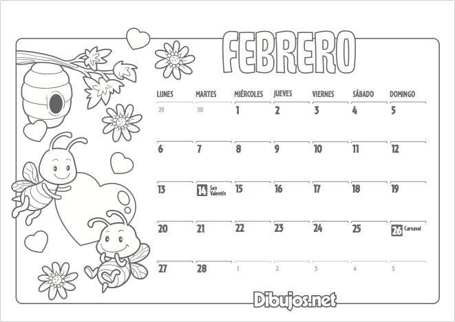 Ya Está Aquí El Nuevo Calendario 2017 Para Colorear De