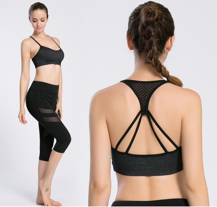 7c2e1781e3052 --Women Yoga Sports Bra Top Fitness Underwear Running Brassiere Gym Workout  Padded Wire Seamless Crop Top para mujeres 2017 New-- SALE 1 38%OFF 2 extra  ...