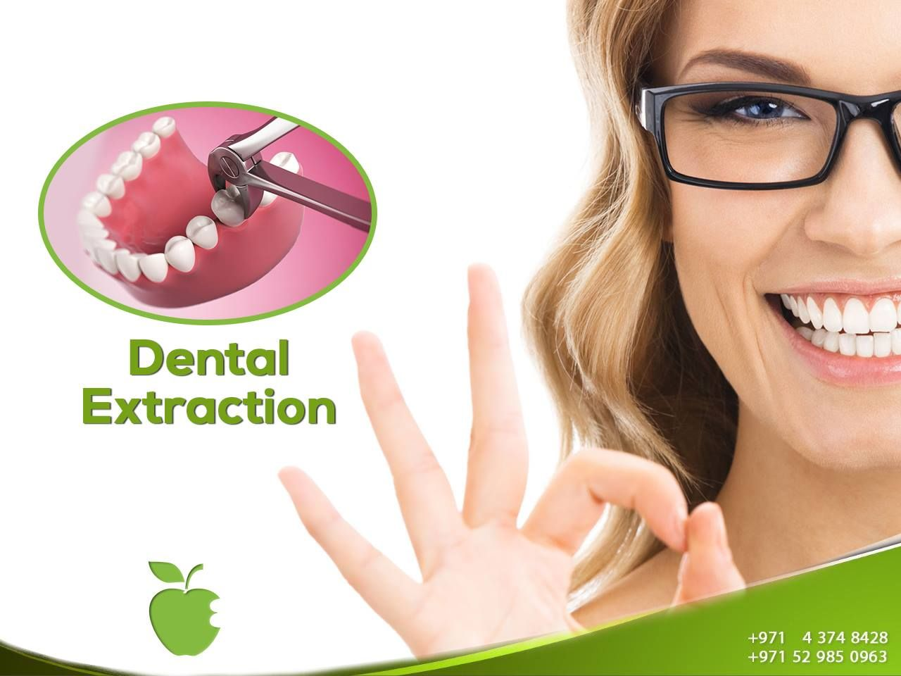 Tooth Extraction, Wisdom Tooth Extraction Dubai American