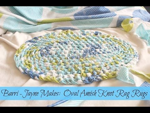 How To Make A Round Amish Knot Toothbrush Rag Rug Tutorial You Projects Try Pinterest Yarns And Tutorials