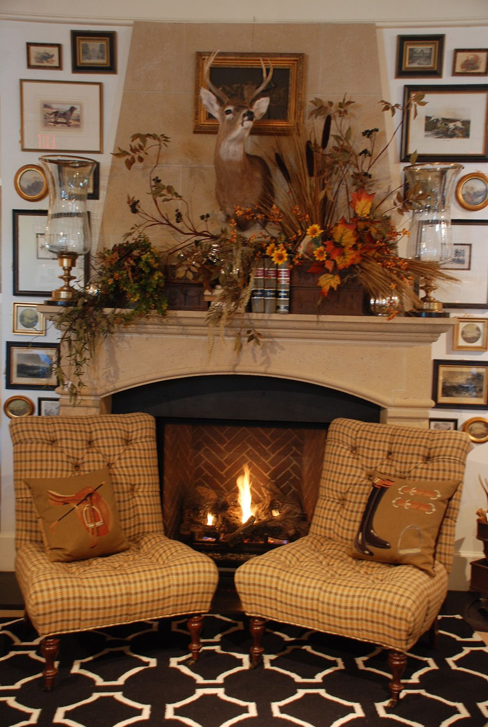Unique Fireplace Mantel Accent Pieces