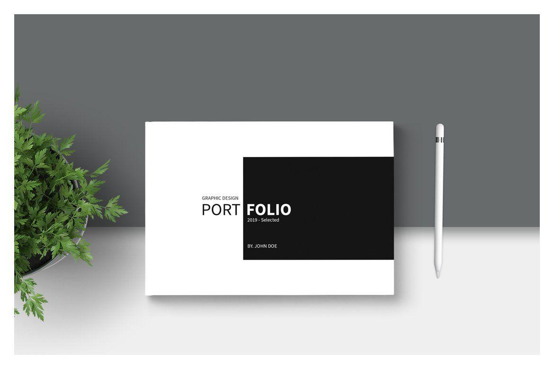 Graphic Design Portfolio Template #Ad , #AFFILIATE, # ...