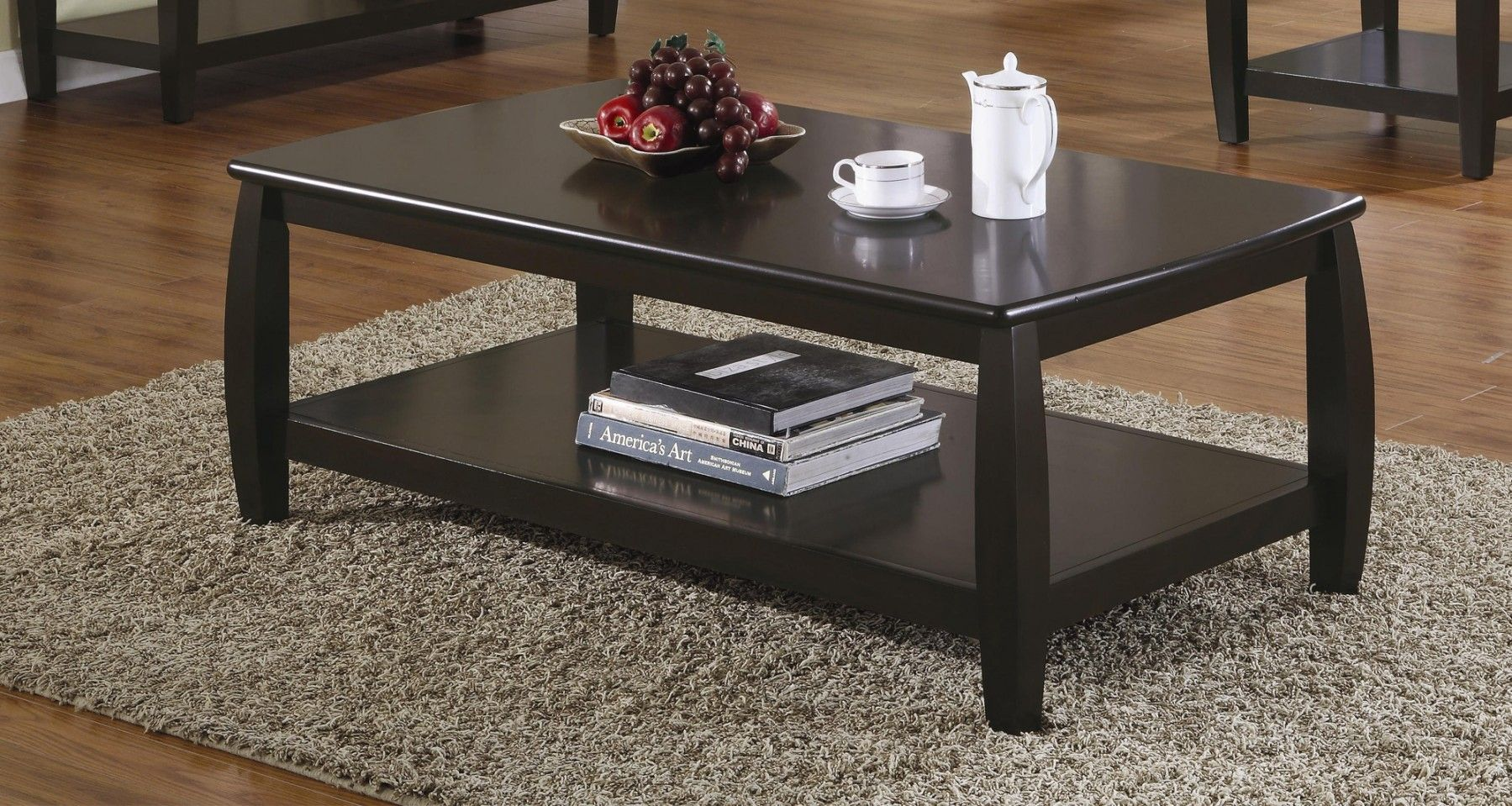Coaster Wood Top Espresso Coffee Table With 1 Shelf Walmart Com Coffee Table Coffee Table Coasters Coffee Table With Shelf [ 959 x 1799 Pixel ]