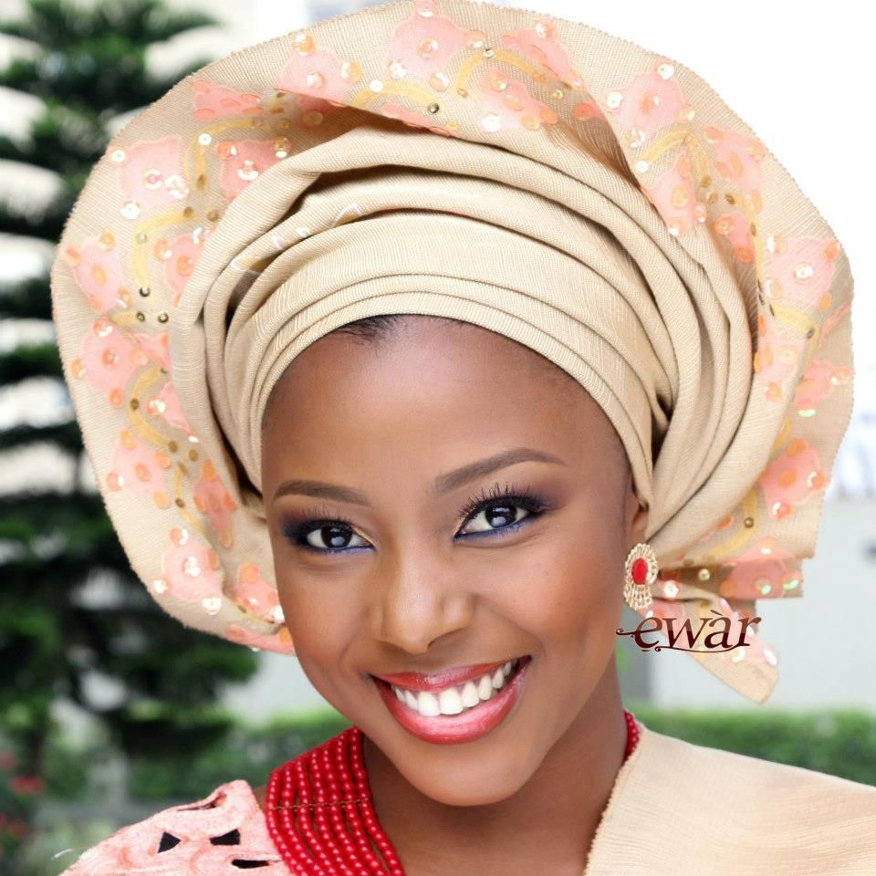 Gele is a common women's cloth head scarf in many parts of