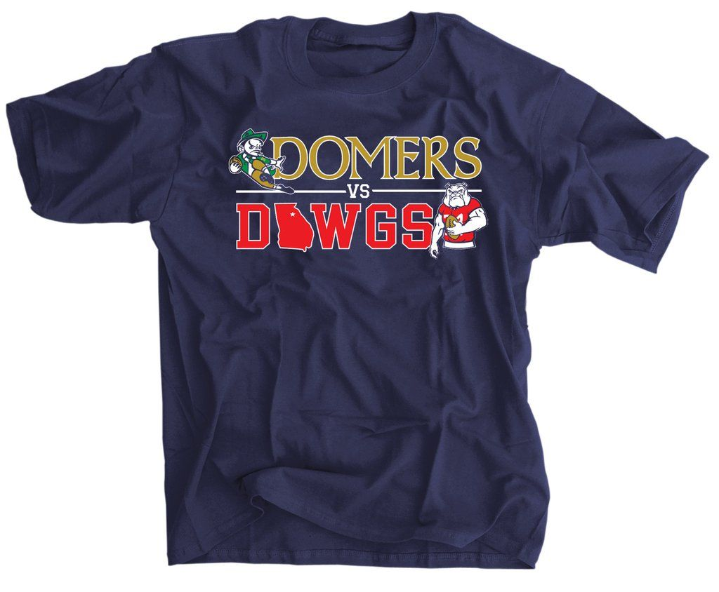 6da5a6c9 Domers Vs Dawgs 2019 Shirt | Fighting Irish | Peyton manning ...