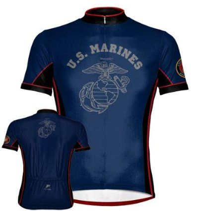 Retro US Marine Corps CYCLING Jersey Short Sleeve  Cycling Short Sleeve  Jersey