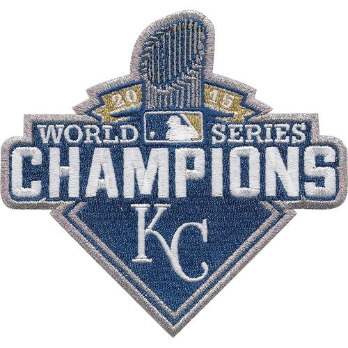 Kansas City Royals 2015 World Series Champions Commemorative Sleeve Patch - MLB.com Shop