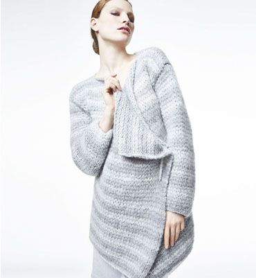 Modèle veste pans basculés femme   Tricot - Vestes   Pinterest   Crochet 17bbc1e86698