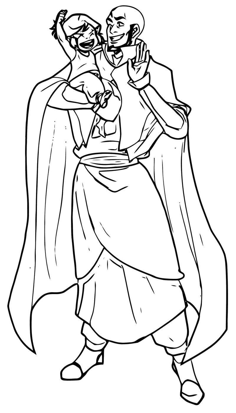 Commission For Ayumiruki Aang And Korra Minuiko Dzk Avatar