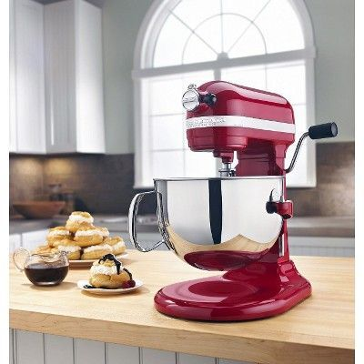 KitchenAid Professional 600 Series 6 Quart Bowl Lift Stand Mixer   KP26M1X,  Empire