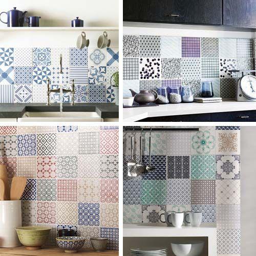 Patchwork in cucina: blog Arredamento Facile | Design - Interior ...
