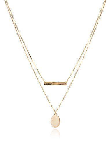 collier homme simons