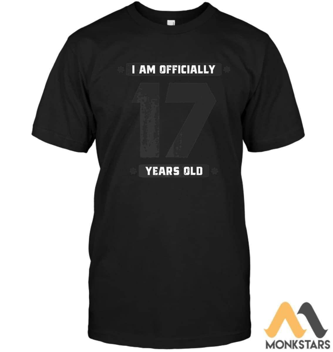 17th Birthday Shirt Age 17 Years Old Boys Girls Gift Son - Monkstars Inc. #17thbirthday