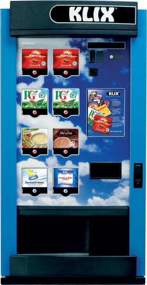klix 450 vending machine