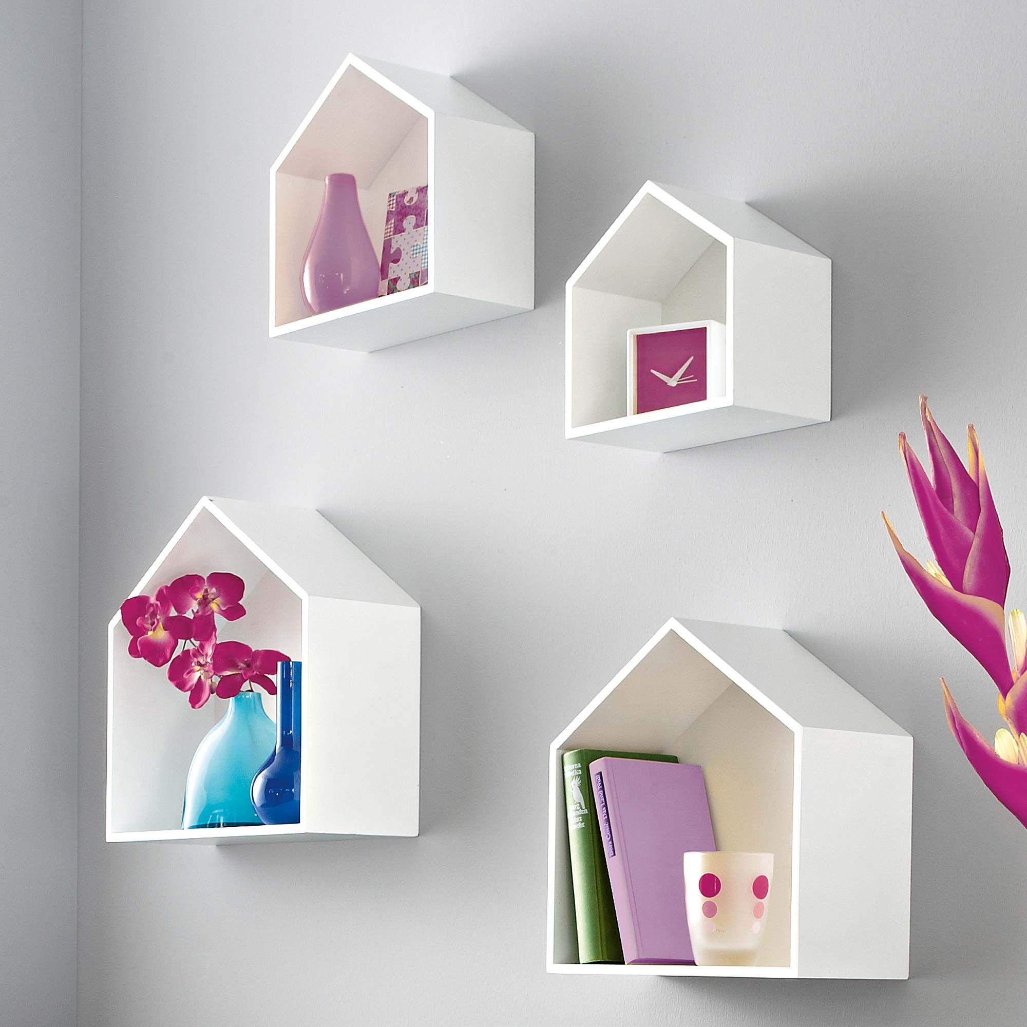 house shaped shelves deko accessoires wohnen im discovery online shop nichtallt gliches aus