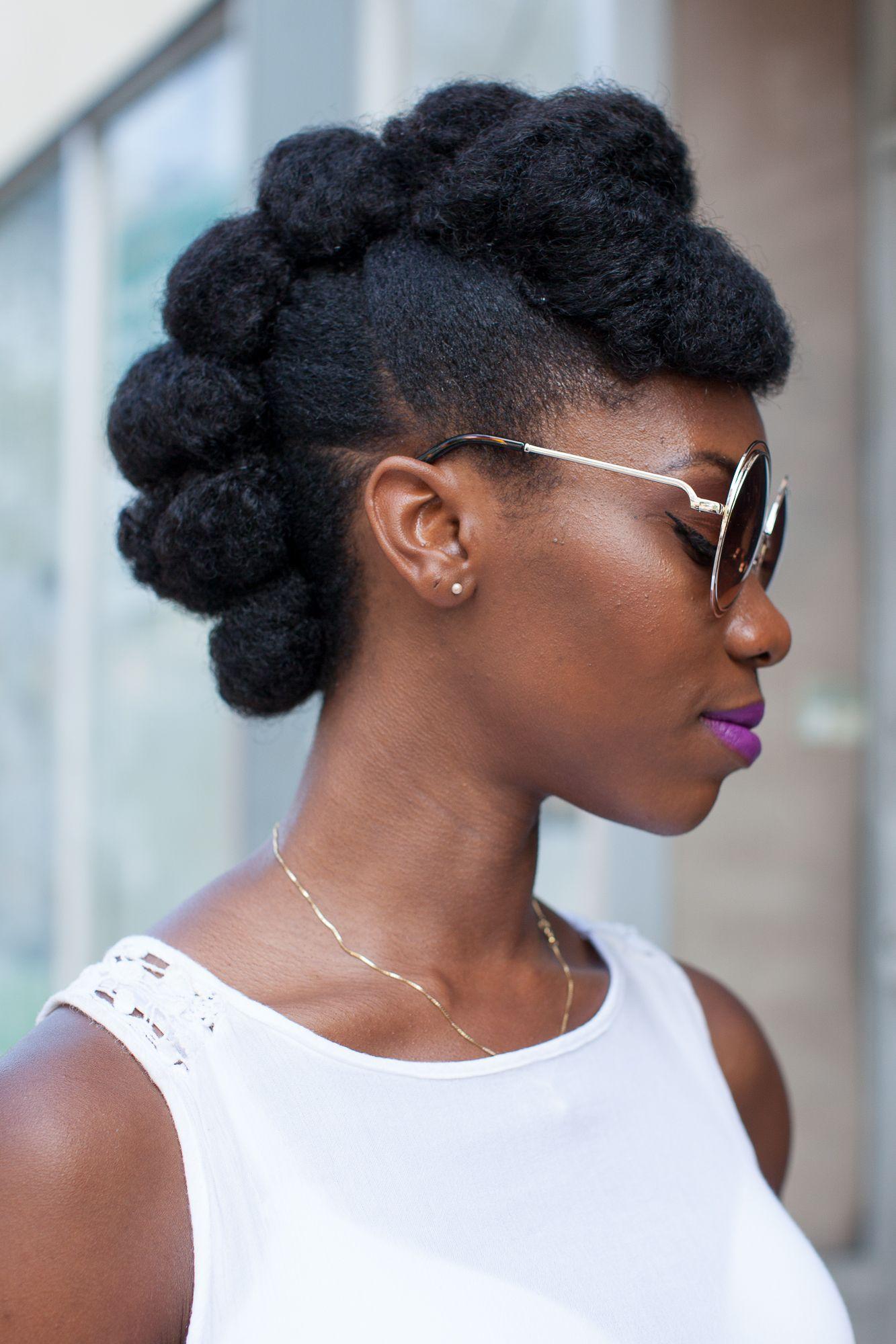 Hair street style summertime fine coiffures afro pinterest