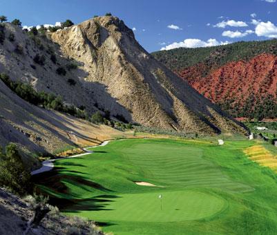 Ironbridge Golf Club Glenwood Springs CO Nice course, I would definitely play it again, on my next visit to Glenwood