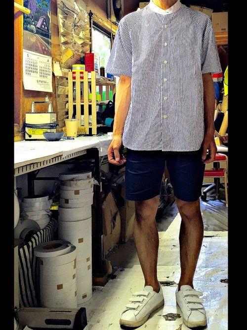keysyu|GLOBAL WORKのシャツ/ブラウスを使ったコーディネート - WEAR