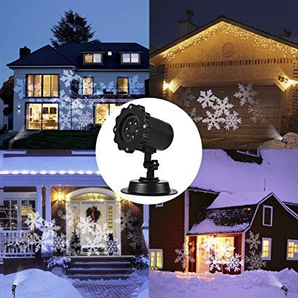 LED Snow Christmas Projector Light TryLight Christmas Projector Light for Garden Decoration Waterproof IP - outdoor light projector