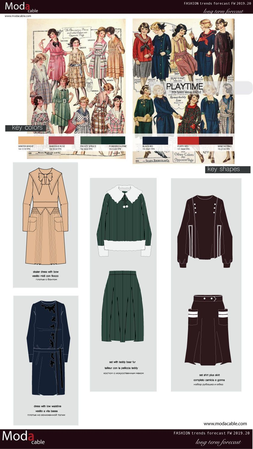 FW 2019.20 trend 30s teen wear only at modacable.com # ...