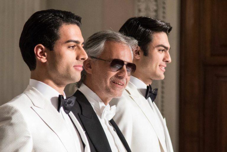 Andrea Bocelli S Son Matteo Sings Elvis S Love Me Tender