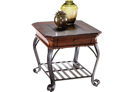 $179 99 picture of Coronado Bay Pine End Table from End Tables