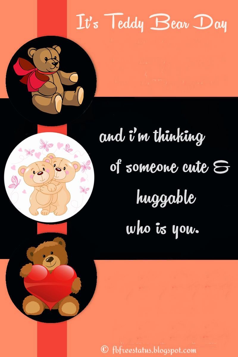 Teddy Day Quotes For Girlfriend And Boyfriend Pinterest Teddy